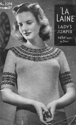 La Laine Bairnswear 2214