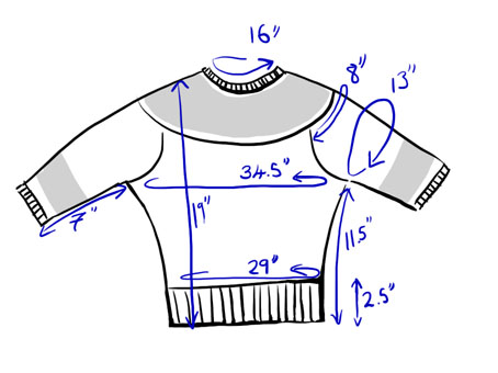 Vintage jumper schematic