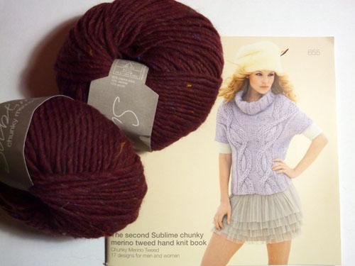 Sublime Chunky Merino Tweed
