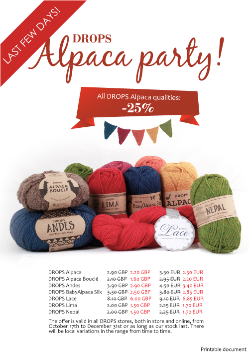 DROPS Alpaca Party
