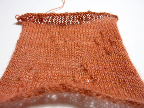Old Maiden Aunt swatch