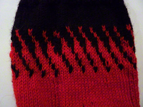 Sock colourwork