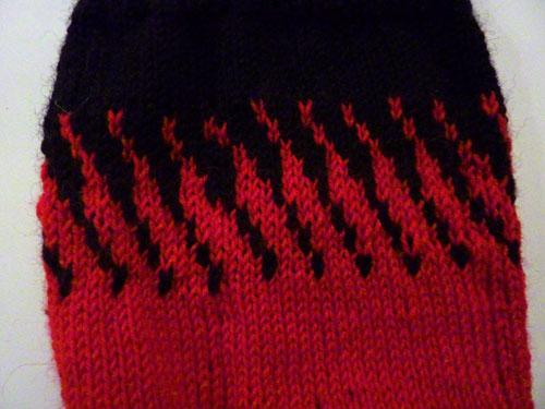 Sock colourwork