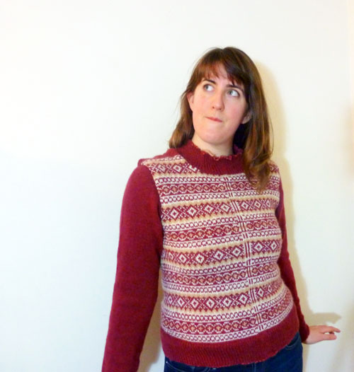 WIP: That fair isle cardigan from last year… | A pile of sheep